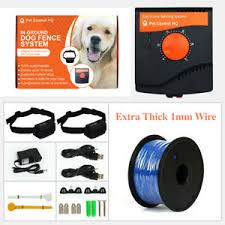 Waterproof Rechargeable Hidden 2 Dog Collar Electric Fence Training Containment 643504905350 Ebay