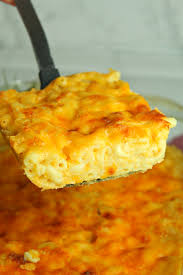 southern baked macaroni cheese