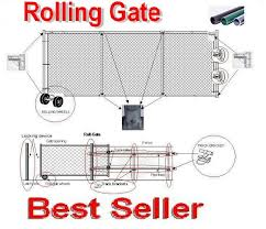 Chain Link Rolling Gate Prices Diy Rolling Gate Rolling Gate Design Rolling Gate Kit How To Build A Rolling Gate With Wheels Rolling Gate Hardware Rolling Gate Wheels Chain Link Rolling Gate