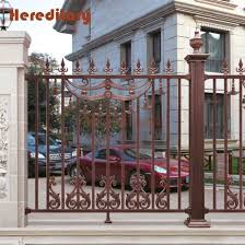 China Modern Wall Fence Design Garden Decorative Privacy Aluminium Fence China Aluminum Garden Fence And Courtyard Fence Price