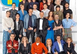 Sanremo 2020, ecco la copertina di Tv Sorrisi e Canzoni