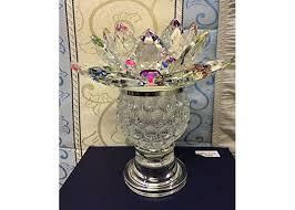candle tea light holder lotus flower