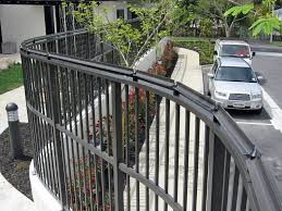 Cat Fence Nz On Twitter Can The Oscillot System Go Around Curves You Bet This Is A Very Special Installation We Ve Just Completed In Auckland The Paddles Were Custom Powdercoated To Match