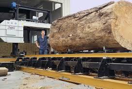 the wm1000 a big sawmill for big logs