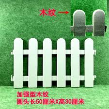 White Plastic Fence Enclosure Railing Fence Garden Decorative Garden Flower Bed Nursery Fence Fence Fence Small