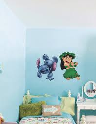 Stitch Wall Decal Custom Disney Lilo And Art For Bedroom Quotes Uk Vamosrayos