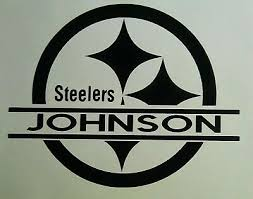 Pittsburgh Steelers Custom Decal Your Name Your Text Tailgating Sticker Football Ebay
