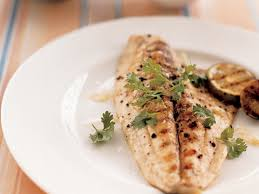 Grilled Pompano with Tangy Ginger Sauce ...