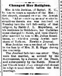 Conversion of Addie Jenkins - Newspapers.com
