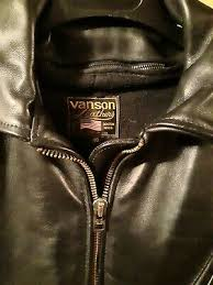vanson j nos 1990s usa made leathers