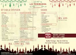 best iftar and sehri deals for ramadan