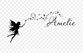 Fairy Wand Wall Decal Name Nursery Png 700x525px Fairy Angel Art Bedroom Bird Download Free