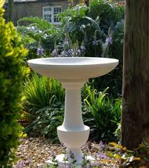 cast stone stone bird baths