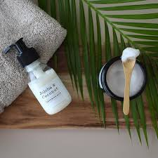 jojoba coconut cleansing milk