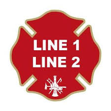 Firefighter Decals Thin Red Line Maltese Firefighter Com
