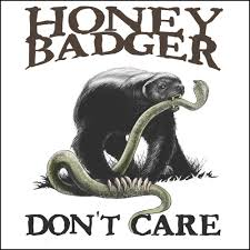 honey badger don t care demand