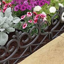 Smart Garden 4 X Scroll Decorative Fence Path Border Lawn Plant Beds Edging Homeleigh Garden Centres