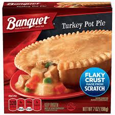 turkey pot pie banquet