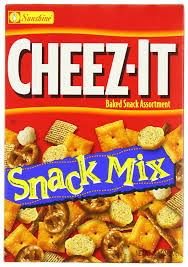 cheez it snack mix baked snack