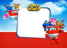 Super Wings Tarjetas O Invitaciones Para Imprimir Gratis Ideas