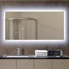 x 24 h rectangular frameless wall
