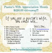 pastor wife poems