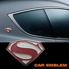 Superman Logo Car New Brand Alloy Metal Decal Emblem Superman Badge Auto Sticker Ebay