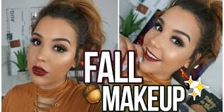 fall makeup tutorial quick