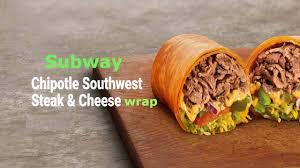 chipotle southwest steak cheese wrap