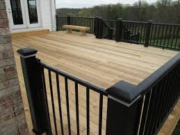 Composite Decking Material Inspirations With Wood Deck Railing Pontoon Best Rated Home Elements And Style Colors Lowe S Options Roof What S The Consumer Reports Crismatec Com