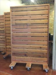 portable wood partition maybe make
