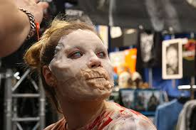 a special effects makeup conference at