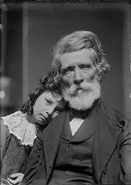 Citation: Russell Smith and his granddaughter, Polly, ca. 1885 ...