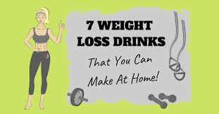 7 homemade drinks to lose weight fast
