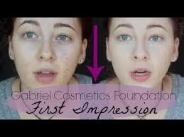 gabriel cosmetics foundation first