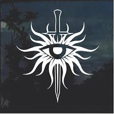 Dragon Age Inquisition Window Decal Sticker Custom Sticker Shop