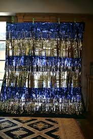 photo booth backdrop with metallic