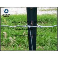 Green Bitumen Galvanized T Fence Post With Clips Astm A 702 89 Standard Global Sources