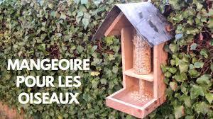 fabriquer une mangeoire À oiseaux avec