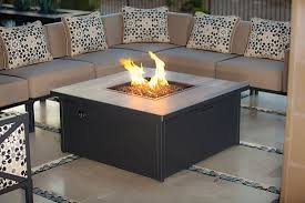 gas fire pits made in california