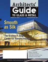 architects guide to glass metal by