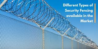 Different Types Of Security Fencing Available In Market Security Fence Different Types Of Fences Types Of Fences