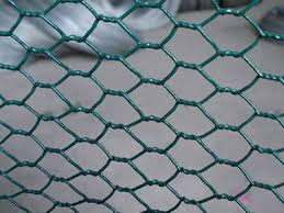 Chicken Wire Fence Galvanized Or Pvc Hexagon Pattern Fence