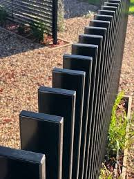 Vertical Blade Aluminium Fence Panel 1800mm Heigh X 2400mm Wide In 2020 Aluminum Fence Fence Design Modern Fence Design