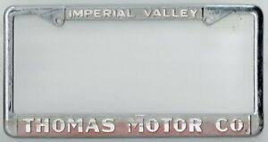 rare imperial valley california thomas