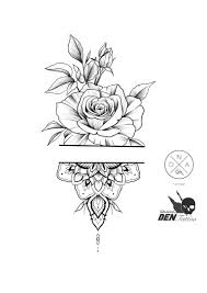 Rose Tattoodesigns Tattooforwomen Design Flovers