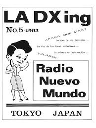 La Dxing No 5 Radio Nuevo Mundo 1992 Japon Audio Electronics