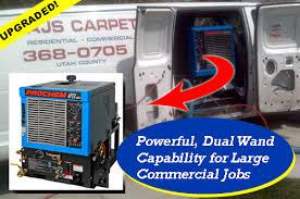 truck mount carpet cleaning equipment
