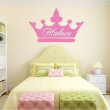 Personalized Wall Decals Girls Princess Vinyl Decor Wall Decal Customvinyldecor Com