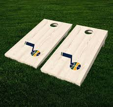 Utah Jazz Cornhole Decal Vinyl Nba Basketball Car